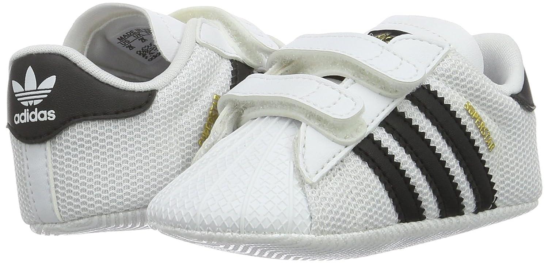 on sale 340d0 a9381 adidas Unisex Babies  Superstar Crib Gymnastics Shoes S79917