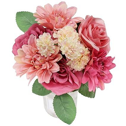 Amazon Artificial Flowers Arrangements Arts Crafts Silk Flowers