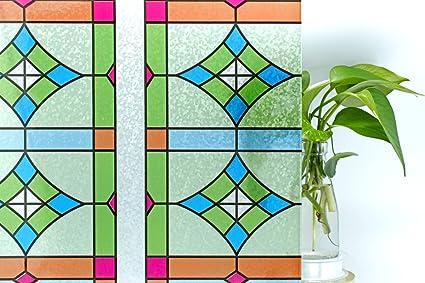 45 cm x 200 cm decoración lámina Película adhesiva-muebles lámina Stars-estrellas azul