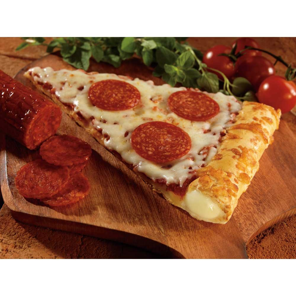 Conagra The Max Stuffed Crust Pepperoni Pizza Slice, 5.75 Ounce -- 72 per case. by ConAgra