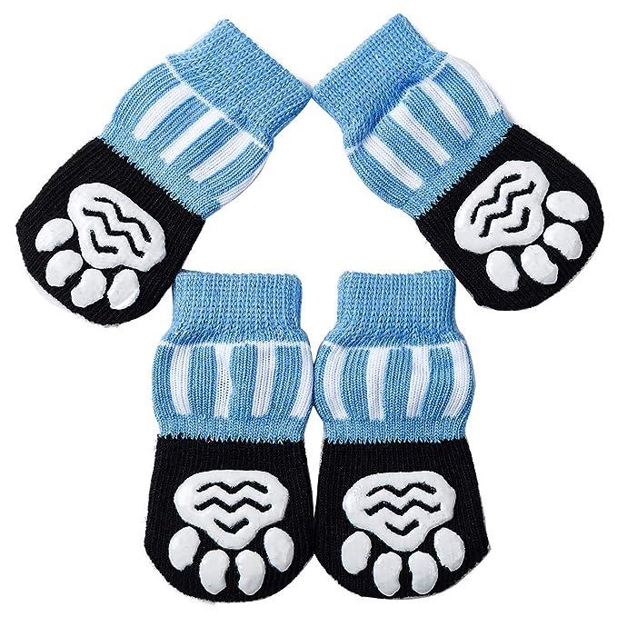 Amazon.com: Akopawon - 4 calcetines antideslizantes para ...