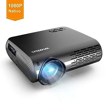 WiMiUS Proyector 3600 Lúmenes Multimedia Vídeo Proyector LCD ...