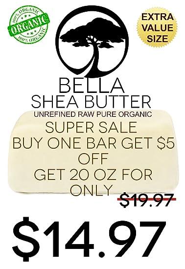 Amazon Com Unrefined Ivory Shea Butter By Bella Shea Butter Best