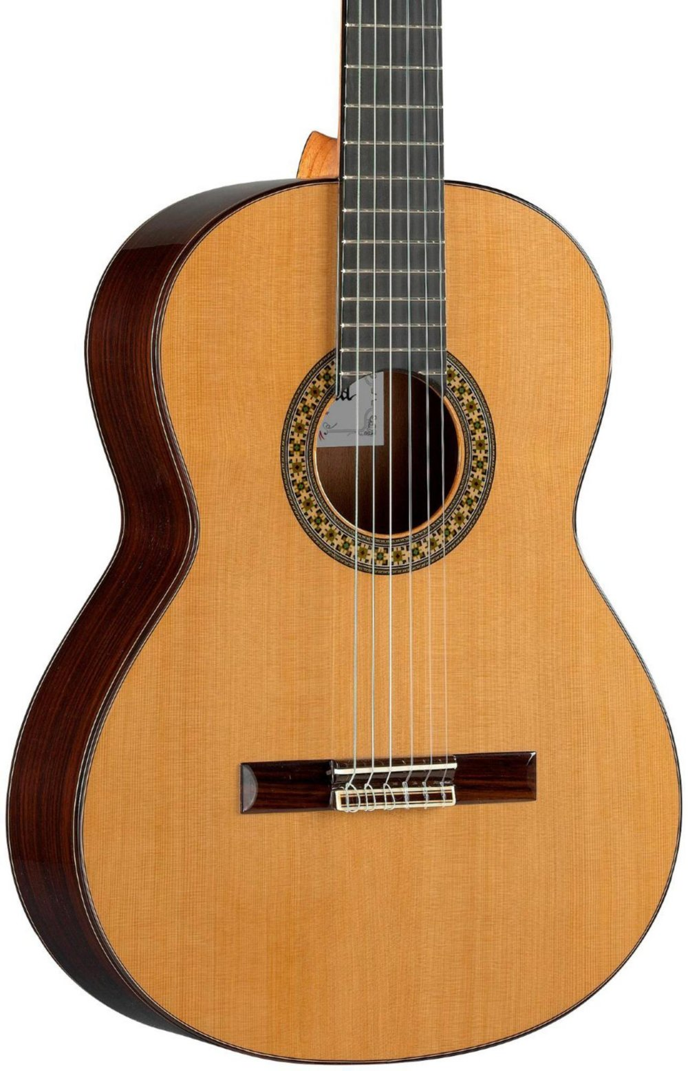 Alhambra 6 String 4OP-US Classical Conservatory Guitar, Right Handed, Solid Canadian Cedar