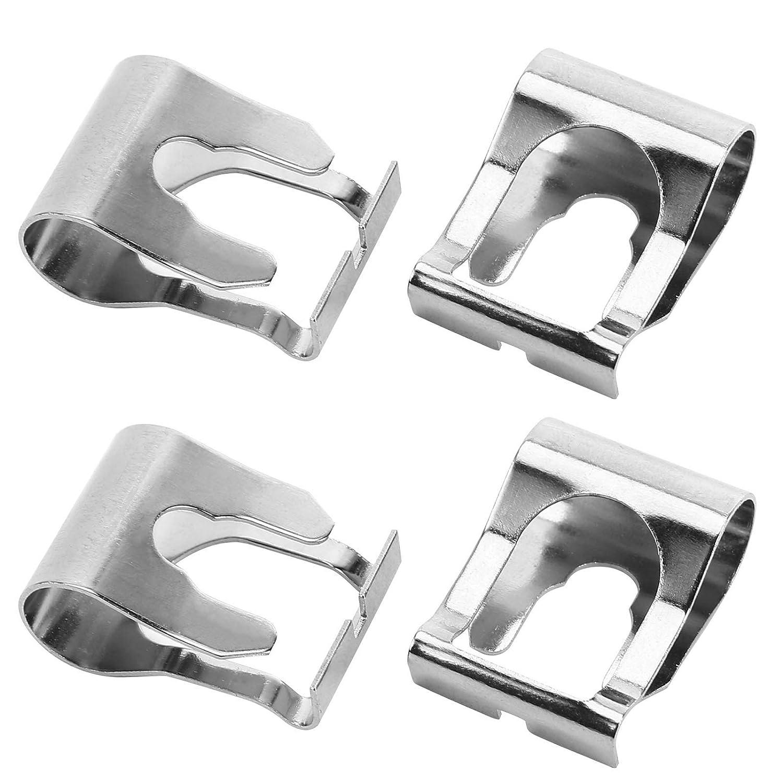 2 X Car Steel Wiper Linkage Repair Clips for Fiat Brava Bravo Doblo Punto Coupe