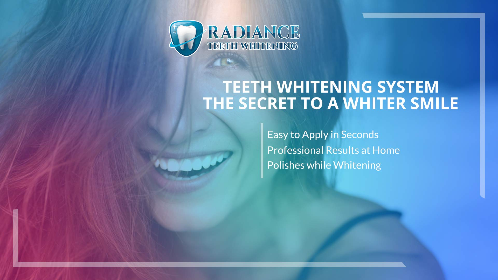 Radiance Teeth Whitening Pen - Quick and Easy to Use! - Compact for Convenience - Brighter, Whiter Teeth - Professional Grade