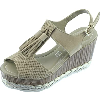 Sandales Compensée Angelina® Gwendi Chaussures Mode Femme Haut 5Lj4AR