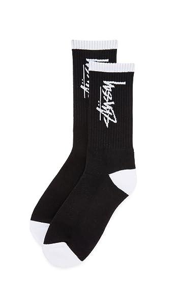 Stussy - Calcetines cortos - para hombre negro negro Talla única: Amazon.es: Ropa y accesorios