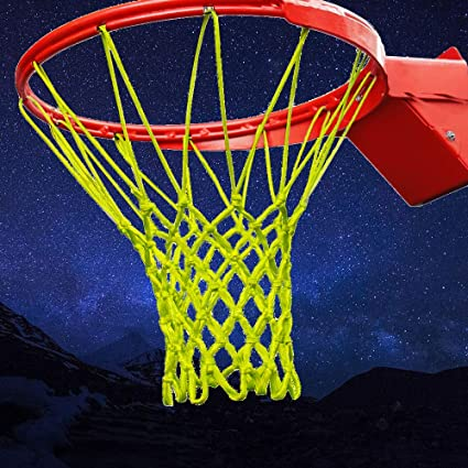 Amazon.com: OUTFANDIA Red de baloncesto que brilla en la ...