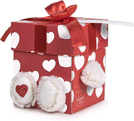 Famosa Softies - Happy Valentine, Oso de peluche de 32cm con caja ...