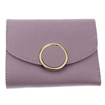 Sharplace Bolsa de Mano Accesorios Organizador para Guardar Tarjeta Dinero de Cuero PU - Luz púrpura: Amazon.es: Oficina y papelería