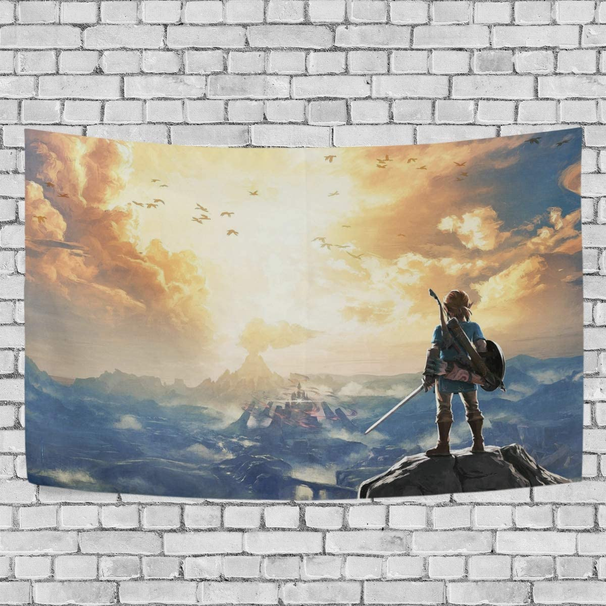 TRE ONE The Legend of Zelda Tapestry Wall Hanging Decoration for Apartment Home Art Wall Tapestry for Bedroom Living Room Dorm Fashion 60 x 51 inches