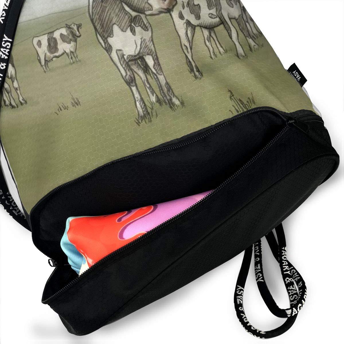 Gym Yoga Runner Sports Daypack Portable Bundle Backpack Cool Tiger In Flame Drawstring Bag For Girls /& Boys