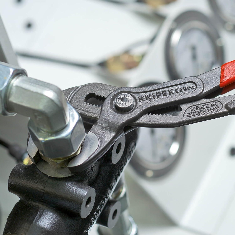 Pince multiprise high-tech compacte poign/ées plastifi/ées 180/mm Knipex Cobra  87 01 180