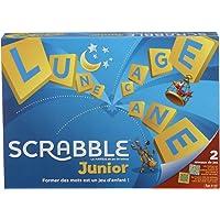 Scrabble Junior, Jeu de Société et de Lettres pour Enfants dès 6 ans, Version Française, Y9668