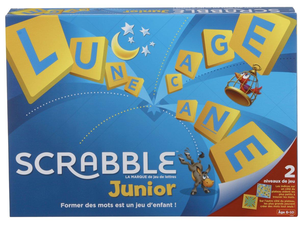 Scrabble Junior, 6-10 años, versión francesa: Amazon.es: Juguetes y juegos