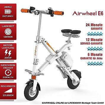 AIRWHEEL E6 bicicleta eléctrica con motor bicicleta plegable para