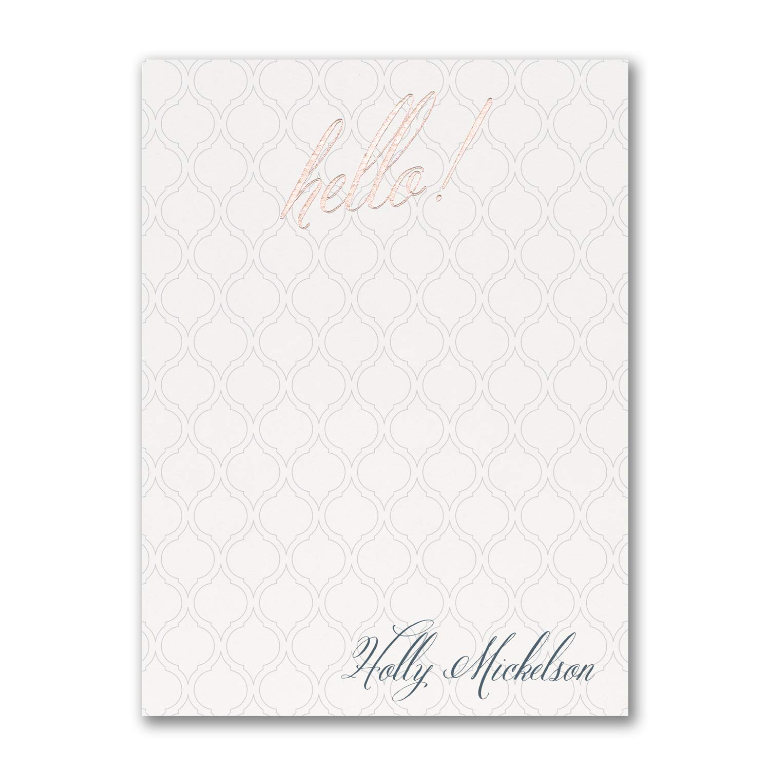 275pk Saying Hello - Note Card-Note Cards by Carlson Craft (Image #1)