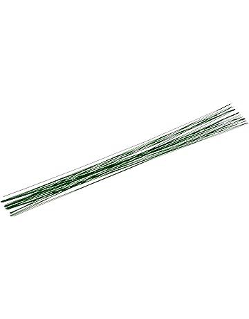 Gütermann / KnorrPrandell 6480055 - Flor del tallo verde de 40 cm de alambre de 0