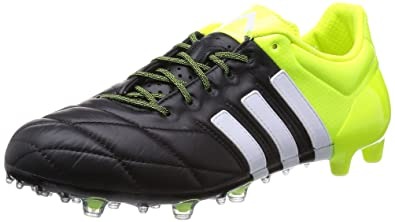 check out 774b3 8622f adidas Ace 15.1 FG AG Cuir - Crampons de Foot - Size 6.5