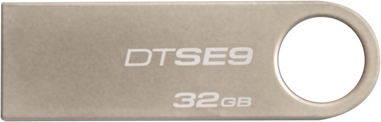 Cl/é USB Argent 2,Pi/èces Kingston DataTraveler SE9 -DT100G3//16Go-2P 16Go