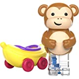 Educational Insights Zoomigos Monkey with Banana Zoomer - Toddler Toy