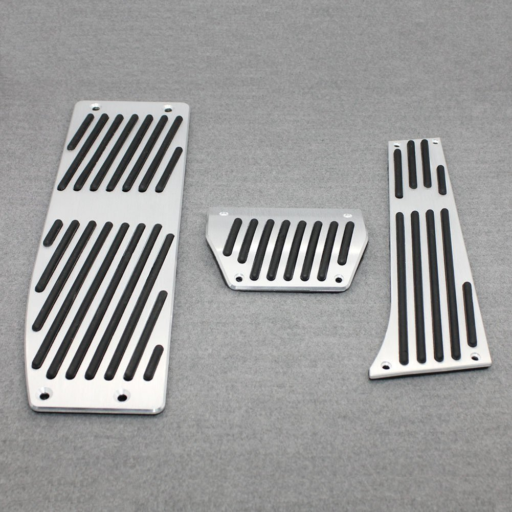 Generic Aluminum Fuel Brake AT Foot Pedals Fit For BMW X1 E30 E36 E87 E46 E90 E91 E92 E93