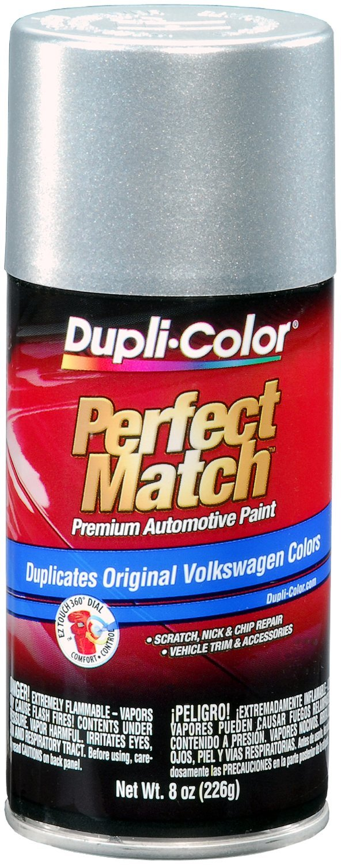 Dupli-Color BVW2039-6 PK (EBVW20397-6 PK) Reflex Silver Metallic Volkswagen Perfect Match Automotive Paint - 8 oz. Aerosol, (Case of 6)