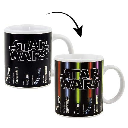 "Taza Térmica Star Wars/Guerra de las Galaxias ""Lightsaber/Espadas de Luz"