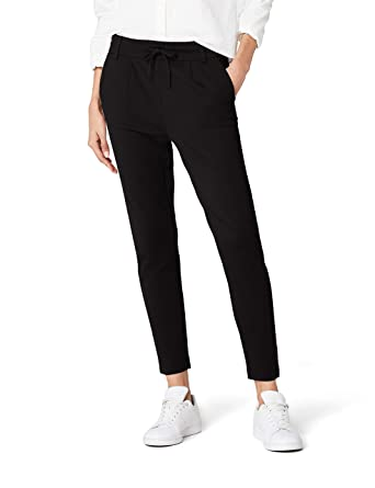ONLY Damen Hose onlPOPTRASH Easy Colour Pant PNT NOOS, Schwarz (Black), 34 fa8b7fa307