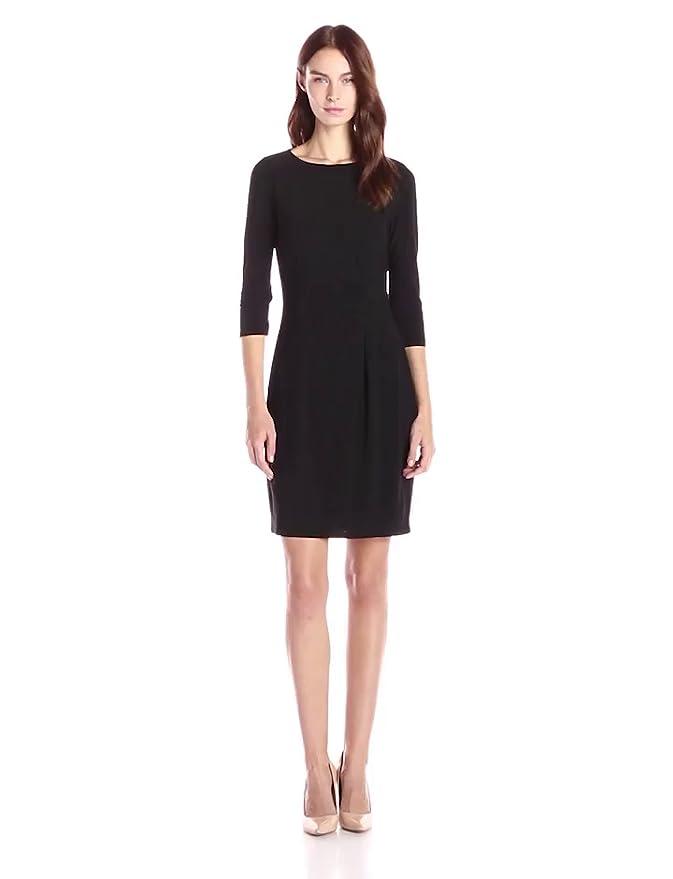 Black dress 3 4 sleeve 40k