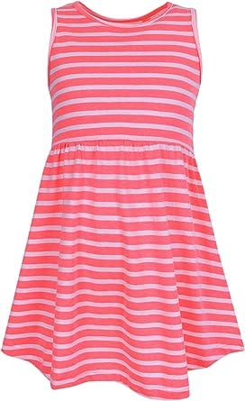 sarcia.eu Vestido Naranja Neon de Rayas YD PRIMARK 3-4 años ...