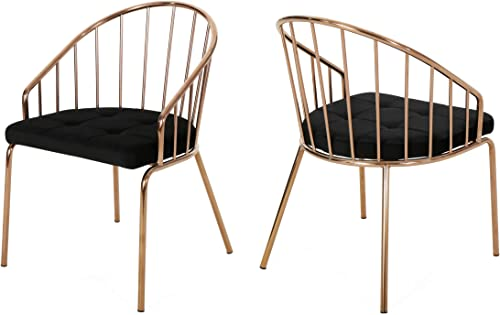 Christopher Knight Home Marcia Modern Velvet Dining Chair
