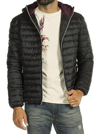 Carrera Jeans - Abrigo 408 para Hombre, Abrigo de Plumas, Color Liso, Ajuste Regular, Manga Larga: Amazon.es: Ropa y accesorios