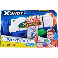 Zuru Water Warfare Fast-Fill waterpistool, blauw
