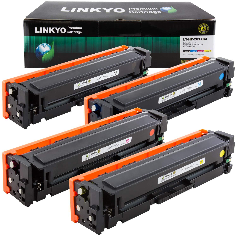 Toner Alternativo ( X4 ) 4 Colores 201X 201A CF400X CF401X CF402X CF403X
