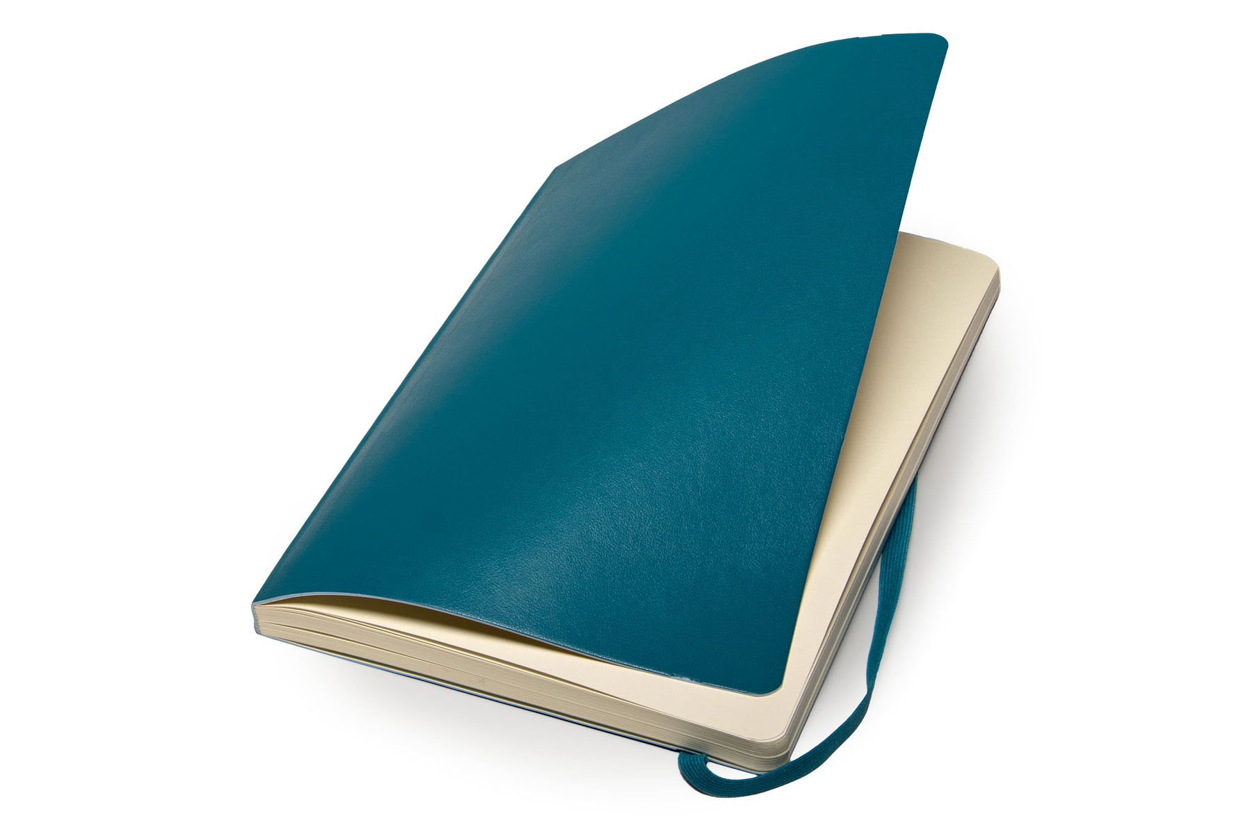 Moleskine Classic Notebook Large (5 x 8.25''), Dotted Pages, Underwater Blue, Soft Cover Notebook for Writing, Sketching, Journals by Ingramcontent (Image #3)