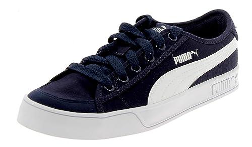 Smash v2 Vulc CV Peacoat White Sneakers
