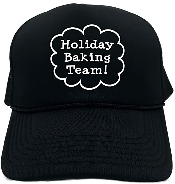 a89f0f08976 Funny Trucker Hat (Holiday Baking Team (Call Out Xmas) Unisex Adult Foam Cap