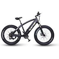 QuietKat Ranger Electric Bike for Backcountry and Off-Road Use - Bafang 750W Hub Drive Motor Chargeable Max Speed 19 MPH, Mechanical Disc Brake 7-Speed Gear 48V/11.6AH