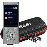 Vasco Mini 2 Translator Device | Multi-language Portable Voice Translator - Supports 50 Languages | Enables Instant Two…