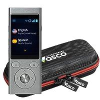 Vasco Mini 2 Translator Device | Multi-language Portable Voice Translator - Supports 50 Languages | Enables Instant Two-Way Conversation | No WiFi needed