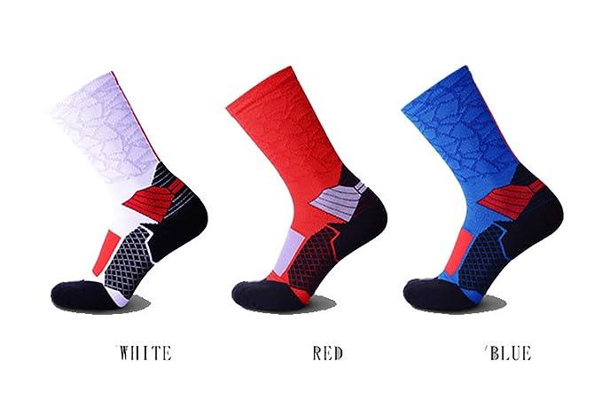 SonMo Calcetines de Deporte Calcetines Fútbol Hombre Calcetines Nylon 6 Pares Calcetines Tres Colores: Amazon.es: Ropa y accesorios