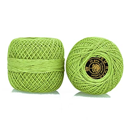 Amazoncom Crochet Cotton Thread Size 40 For Weaving Knitting And
