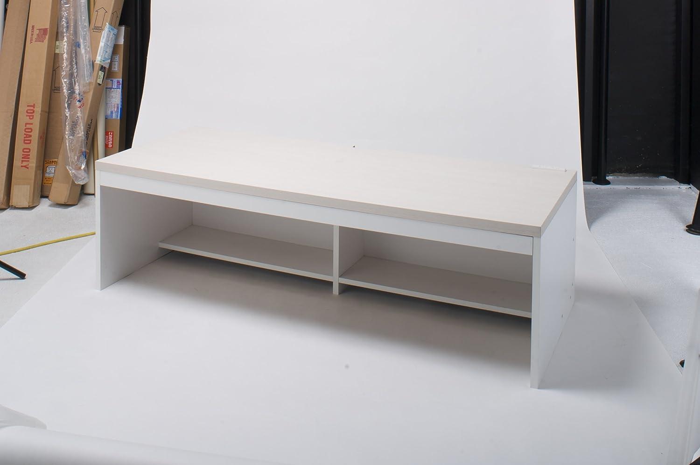 モリヤ パソコンデスク W1500 ロータイプ 001-15002 ホワイト