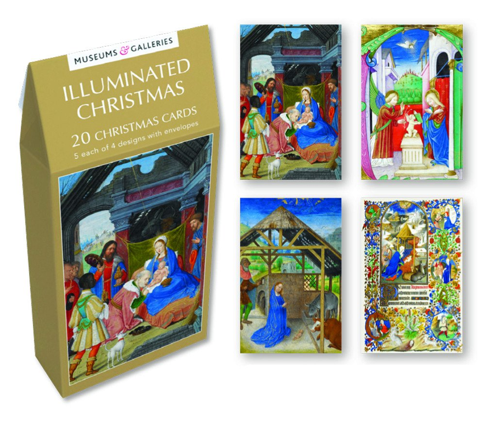 Amazon.com: Museums & Galleries (MUT38) Tent Boxed Christmas Cards ...