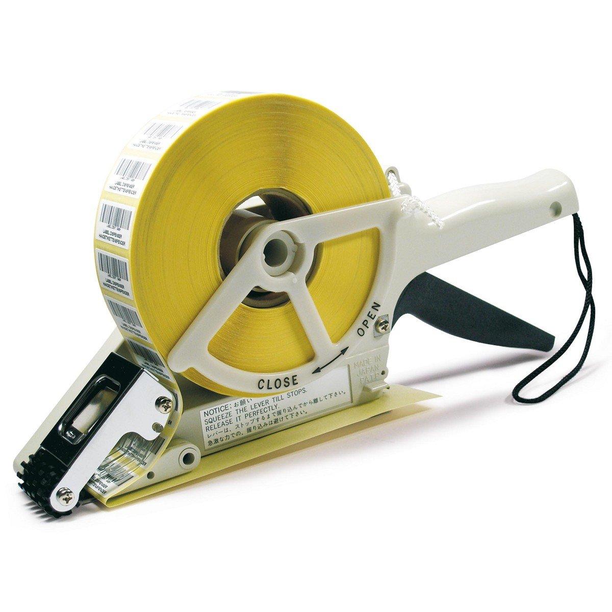 Te de Office Towa etiquetas mano Dispensador Dispensador de etiquetas mano etiqueta dispensador de plástico para etiquetas adhesivas manual 20 A 30 mm: ...