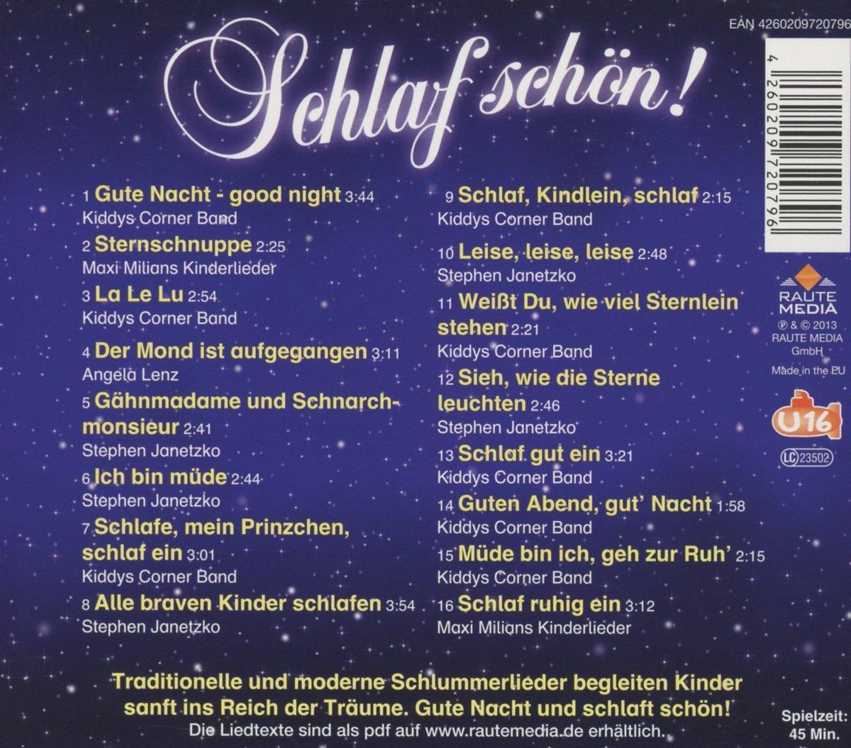 beab9f3f2e Schlaf Schön!: Amazon.co.uk: Music