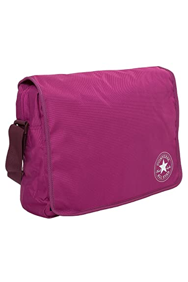 14a55c0a88191 CONVERSE Umhängetasche FLAP REPORTER Schultertasche Messenger Pink Saphire   Amazon.de  Koffer