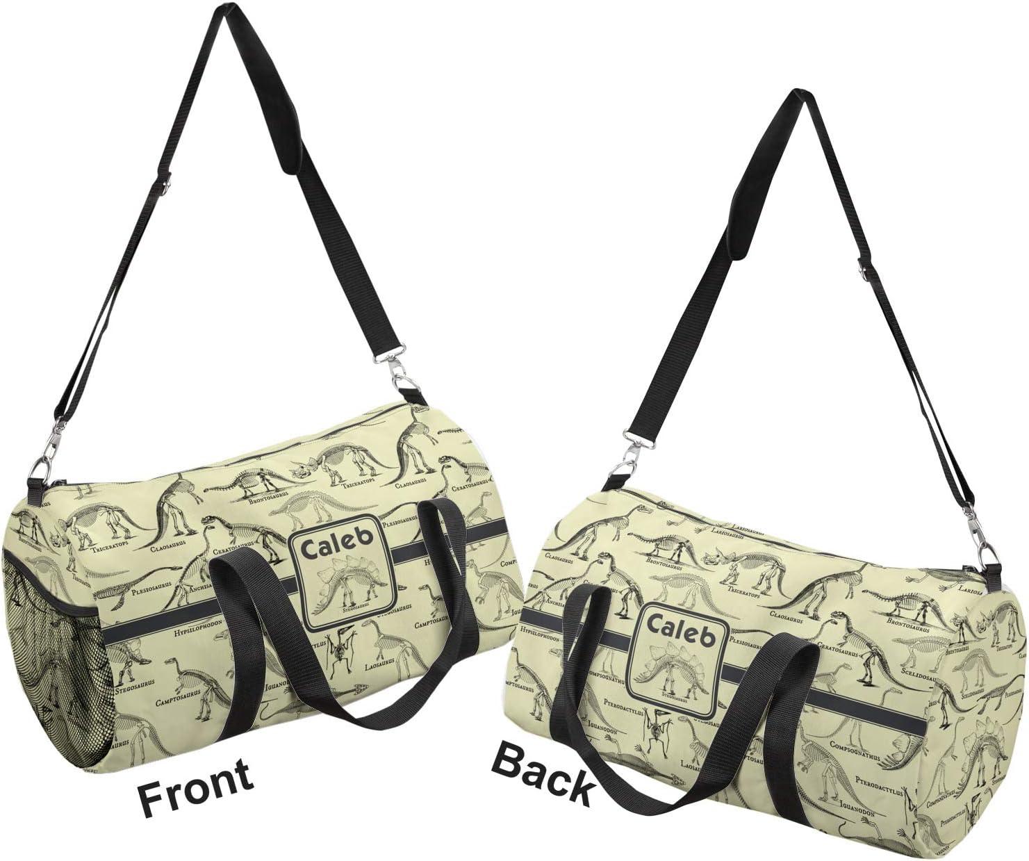 YouCustomizeIt Dinosaur Skeletons Duffel Bag Personalized